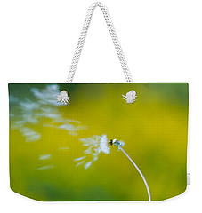 Weekender Tote Bag featuring the photograph Blown Away by Sebastian Musial