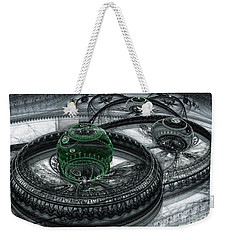 Dark Alien Landscape Weekender Tote Bag