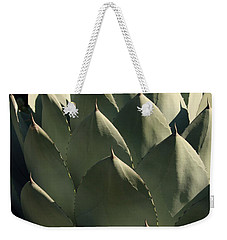 Blue Aloe Weekender Tote Bag