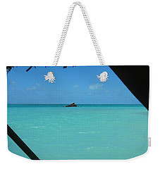 Blue And Green Weekender Tote Bag by Photographic Arts And Design Studio