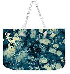 Blue And Yellow Abstraction Weekender Tote Bag