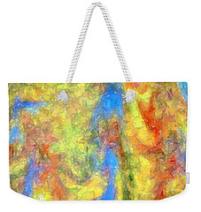 Blue Ascension Weekender Tote Bag