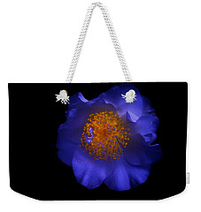 Blue Beauty Weekender Tote Bag