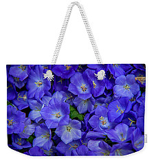 Blue Bells Carpet. Amsterdam Floral Market Weekender Tote Bag