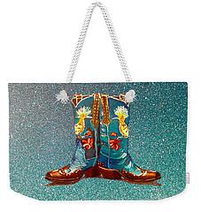 Blue Boots Weekender Tote Bag