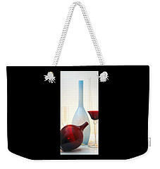 Blue Bottle Weekender Tote Bag