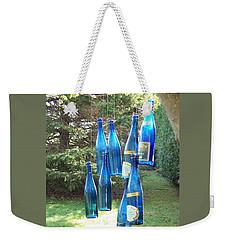 Blue Bottle Tree Weekender Tote Bag by Jackie Mueller-Jones
