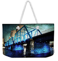 Blue Bridge Weekender Tote Bag
