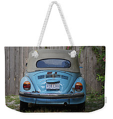 Blue Bug Weekender Tote Bag