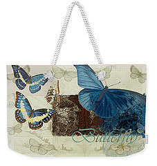 Blue Butterfly - J152164152-01 Weekender Tote Bag