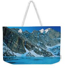 Blue Chasm Weekender Tote Bag by Eric Glaser