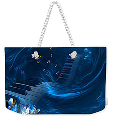 Blue Coral Melody - Fantasy Art By Giada Rossi Weekender Tote Bag