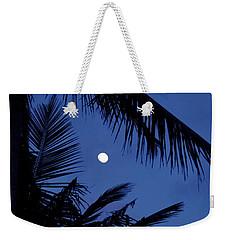 Blue Dawn Moon Weekender Tote Bag by Lehua Pekelo-Stearns