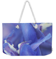 Blue Delight Weekender Tote Bag
