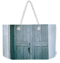 Blue Doors On Brewer Street Weekender Tote Bag