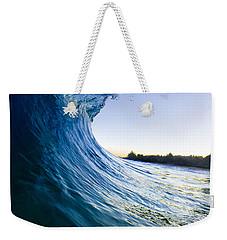 Blue Envelope  -  Part 1 Of 3 Weekender Tote Bag