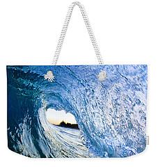 Blue Envelope  -  Part 3 Of 3 Weekender Tote Bag