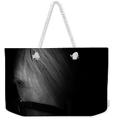 Blue Eyes Weekender Tote Bag by Shane Holsclaw