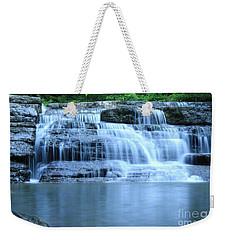 Blue Falls Weekender Tote Bag