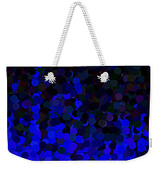 Blue Fire Weekender Tote Bag
