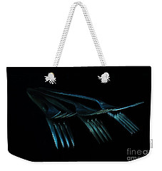 Blue Forks Weekender Tote Bag by Randi Grace Nilsberg