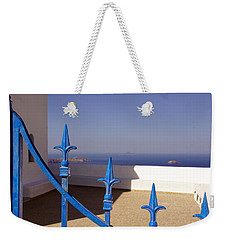 Blue Gate Weekender Tote Bag