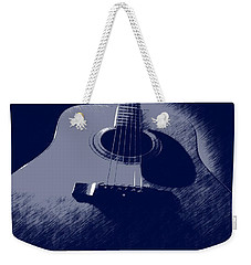 Blue Guitar Weekender Tote Bag by Photographic Arts And Design Studio