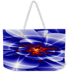 Blue Weekender Tote Bag by Hai Pham