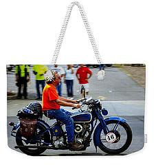 Blue Harley 46 Weekender Tote Bag