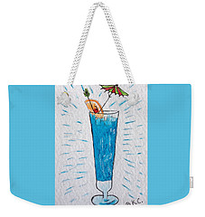 Blue Hawaiian Cocktail Weekender Tote Bag