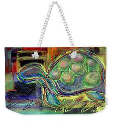 Blue Hawain Turtle Weekender Tote Bag