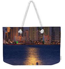 Blue Heron Moon Weekender Tote Bag