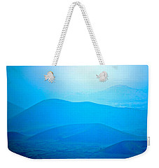 Blue Hills To Mauna Kea Weekender Tote Bag