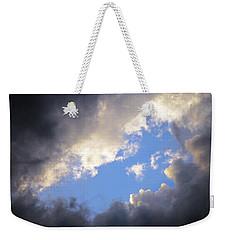 Blue Hole In The Clouds Weekender Tote Bag