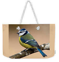 Blue Hood  Weekender Tote Bag by Torbjorn Swenelius