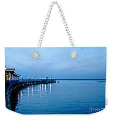 Blue Light Horizon Weekender Tote Bag by Carol F Austin