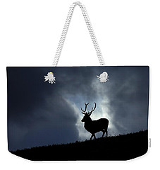 Weekender Tote Bag featuring the photograph Blue Horizon by Gavin Macrae