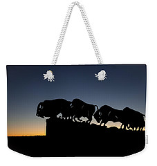 Blue Hour At Caprock Canyons State Park Weekender Tote Bag
