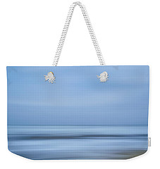 Blue Hour Beach Abstract Weekender Tote Bag