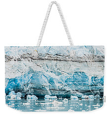 Blue Ice Weekender Tote Bag by Melinda Ledsome