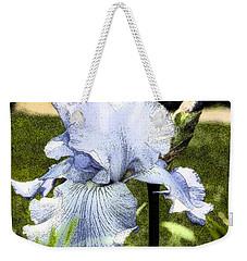 Blue Iris Weekender Tote Bag