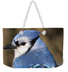 Blue Jay Profile Weekender Tote Bag