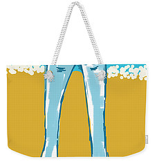 Blue Jean Summer Weekender Tote Bag