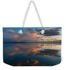 Blue Lagoon. Valencia Weekender Tote Bag