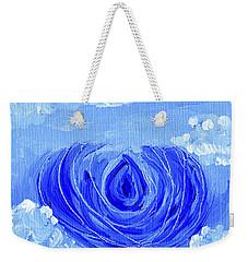 Blue Lotus In The Sky Weekender Tote Bag