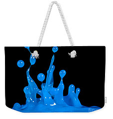 Blue Man Group Weekender Tote Bag by Anthony Sacco