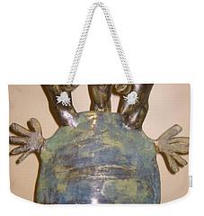 Blue Man - Group Weekender Tote Bag by Mario Perron