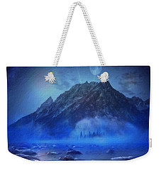 Blue Mist Rising Weekender Tote Bag