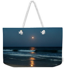 Weekender Tote Bag featuring the photograph Blue Moon by Cynthia Guinn