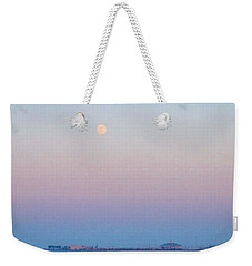 Blue Moon Eve Weekender Tote Bag